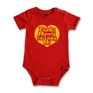 Thanks Mummy for Loving Me Romper by HALUMKIDS