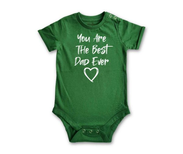 You Are The Best Dad Ever Romper from HALUMKIDS